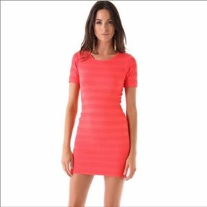 Torn by Ronny Kobo Coral Bodycon Mini Dress, S